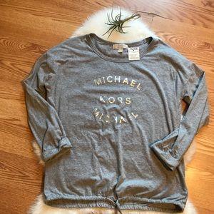 Gray Michael Kors Top
